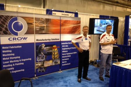 Tradeshow with Jeff and Keith